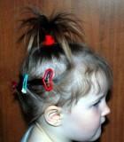 «Пальмочки» на короткие волосы