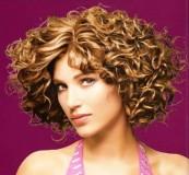 Завивка на средние волосы 2