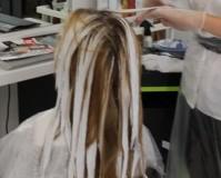 Выполнение блондирования 1