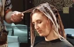 Выполнение блондирования 2