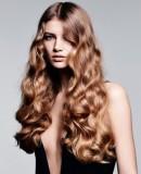 Завивка на длинные волосы 2