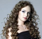 Завивка на длинные волосы 3