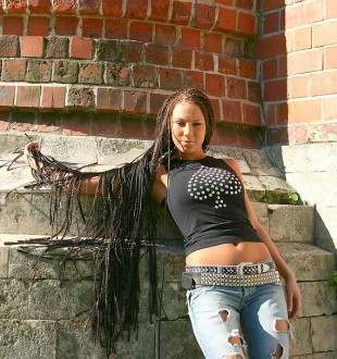 Модные афрокосички
