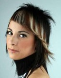 стрижки асимметрия на средние волосы