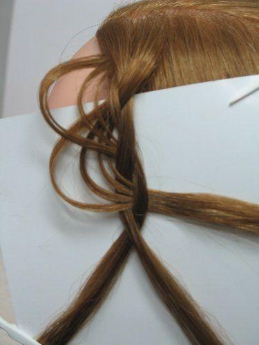 ажурная коса трехпрядная