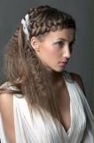 прическа с косами на длинные волосы