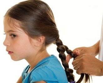 заплетание косичек для девочки