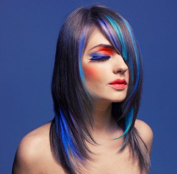 мелки на волосах 3