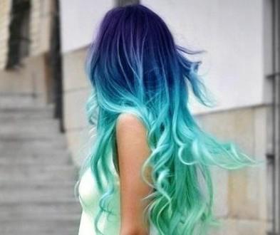 окрашенные волосы 2