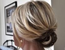 Укладка на короткие волосы 2