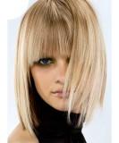 Челка со средними волосами 2