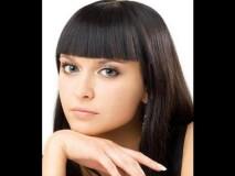 Челка со средними волосами 3