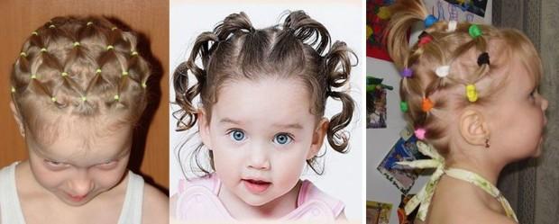 красивые детские прически на короткие волосы