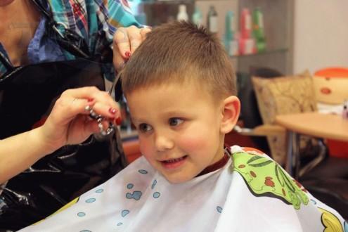 Как подстричь мальчика