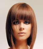 Стрижки на средние волосы 3