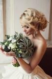 Модная свадебная прическа 3