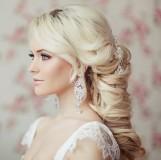 Модная свадебная прическа 2