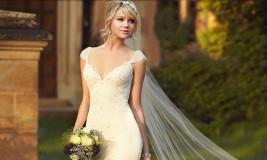 Стильный свадебный образ 2