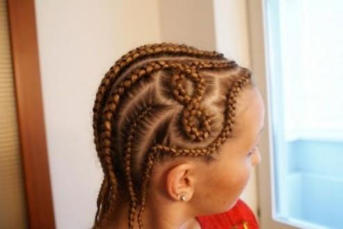 Узоры из кос