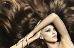 Объемные волосы 3
